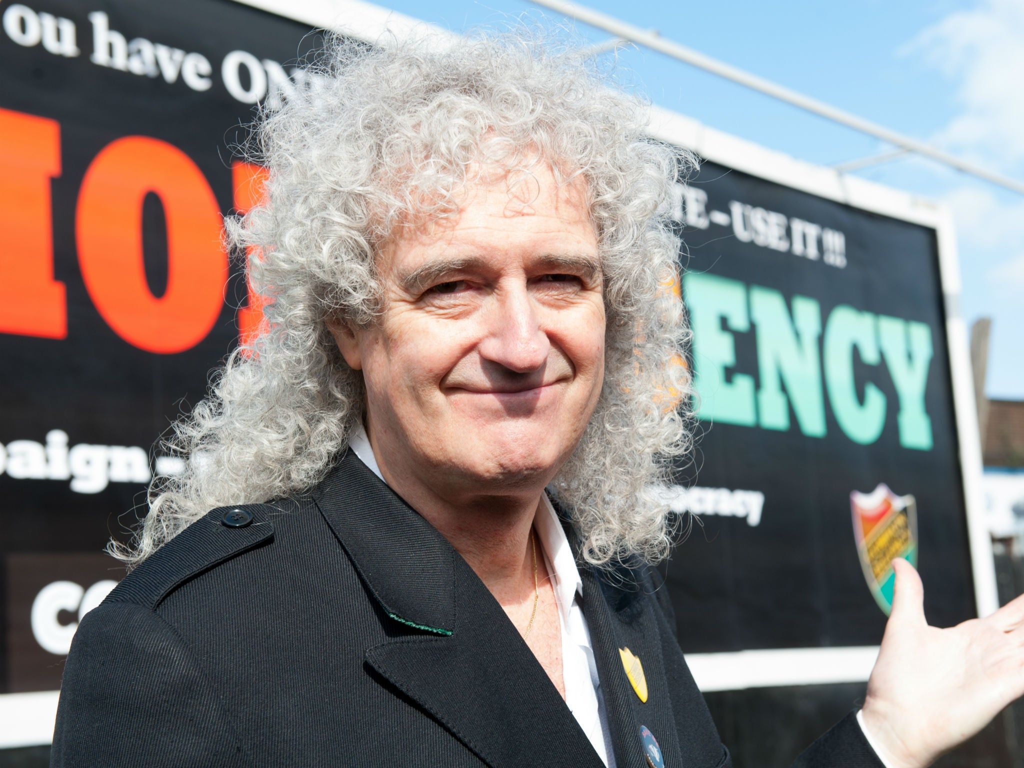 Queen's Brian May leads race to protect Britain's disappearing hedge…