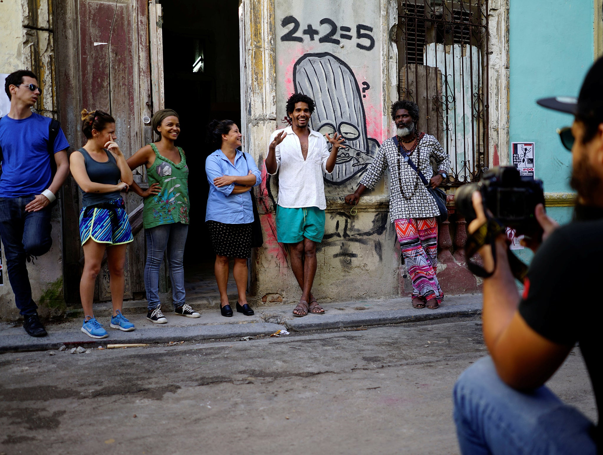 Cuban artists take matters into their own hands after
