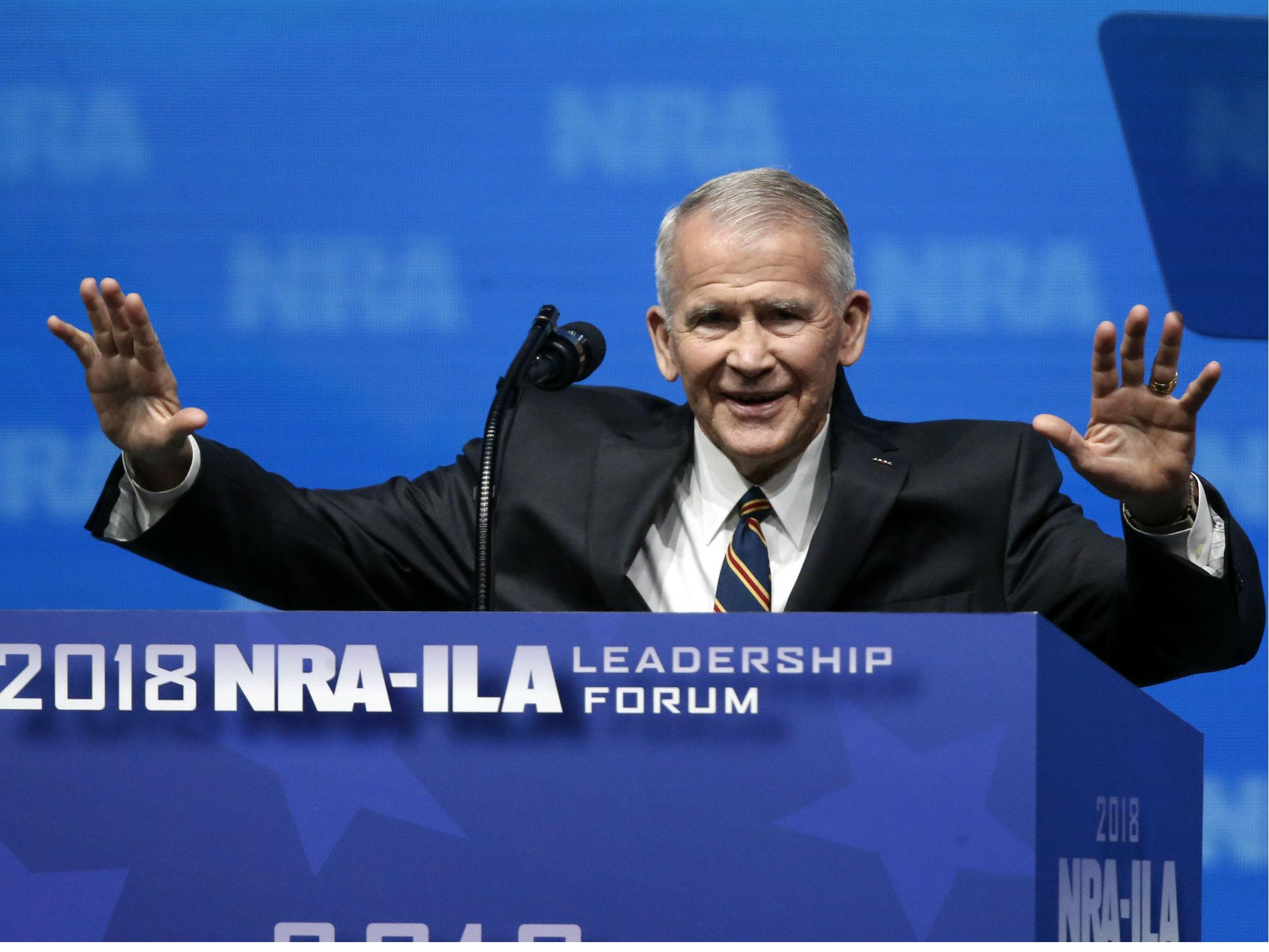 National Rifle Association names Fox News contributor Oliver North as new president