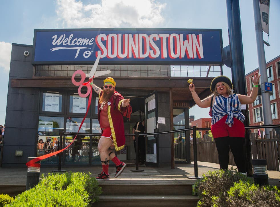 Mayor McCheesy opens the 14th annual Sounds from the Other City, a one-day festival in Salford