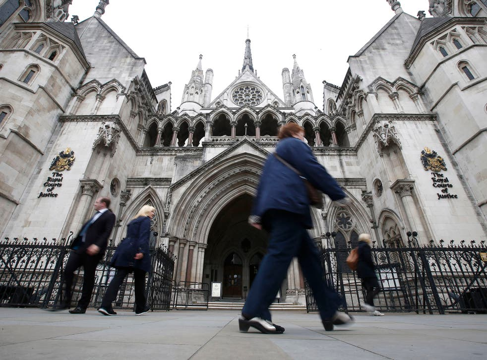 The Royal Courts of Justice in the Strand (File photo)