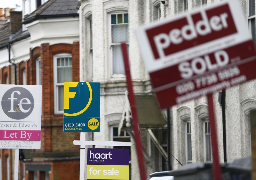 The average property now costs more than