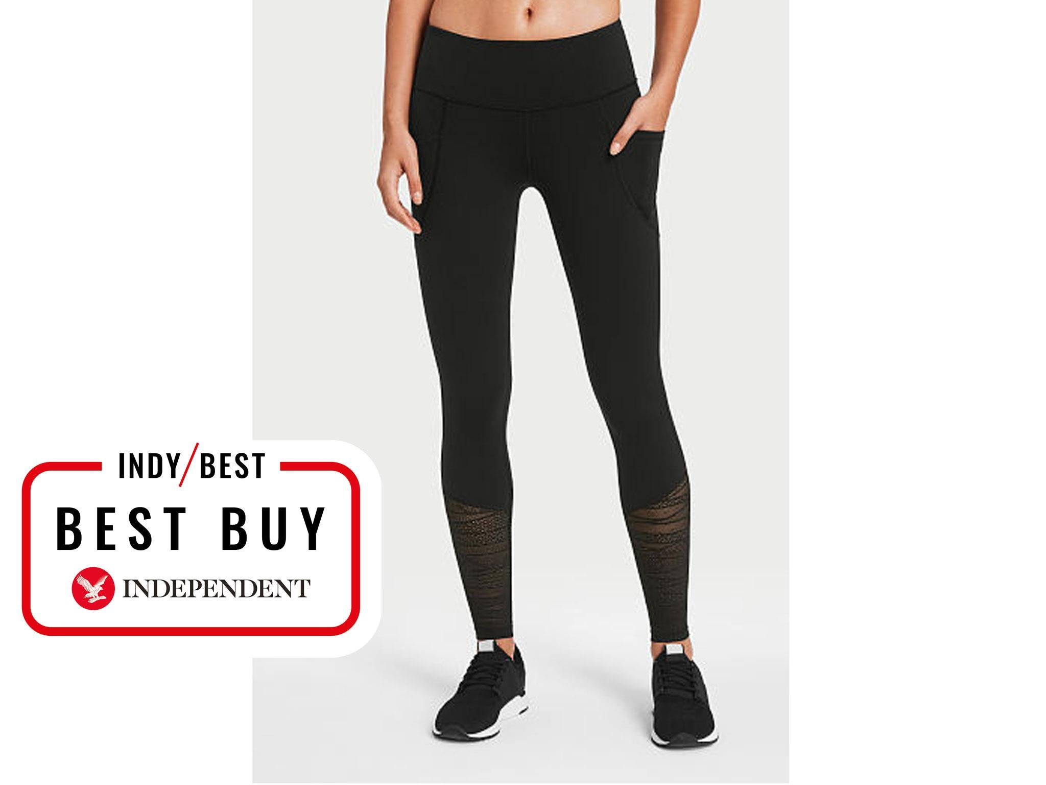 8e04397d2a7df7 Victoria's Secret Knockout Leggings: £68.43, Victoria's Secret. These gym  leggings ...