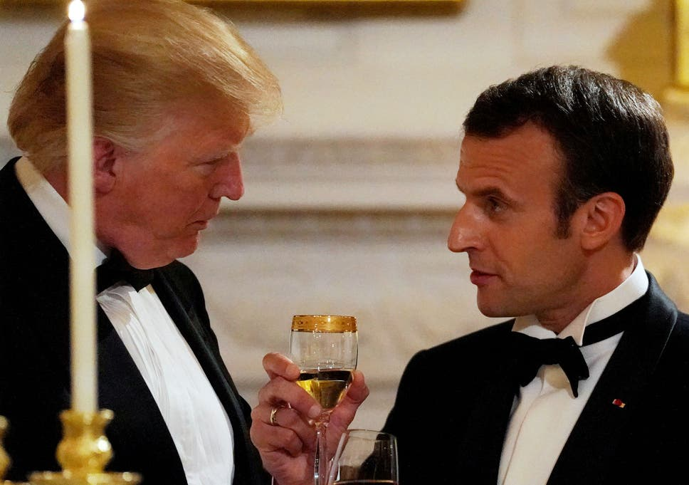 Macron compares calls with trump to sausages if we knew how they white house staff reportedly said trump thought a recent call with macron was terrible m4hsunfo