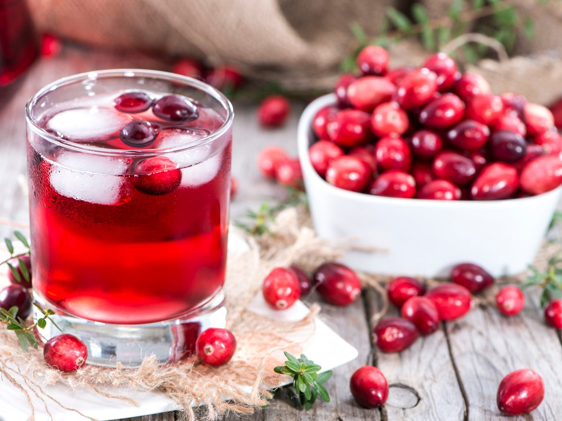 Cranberry juice will help in treatment