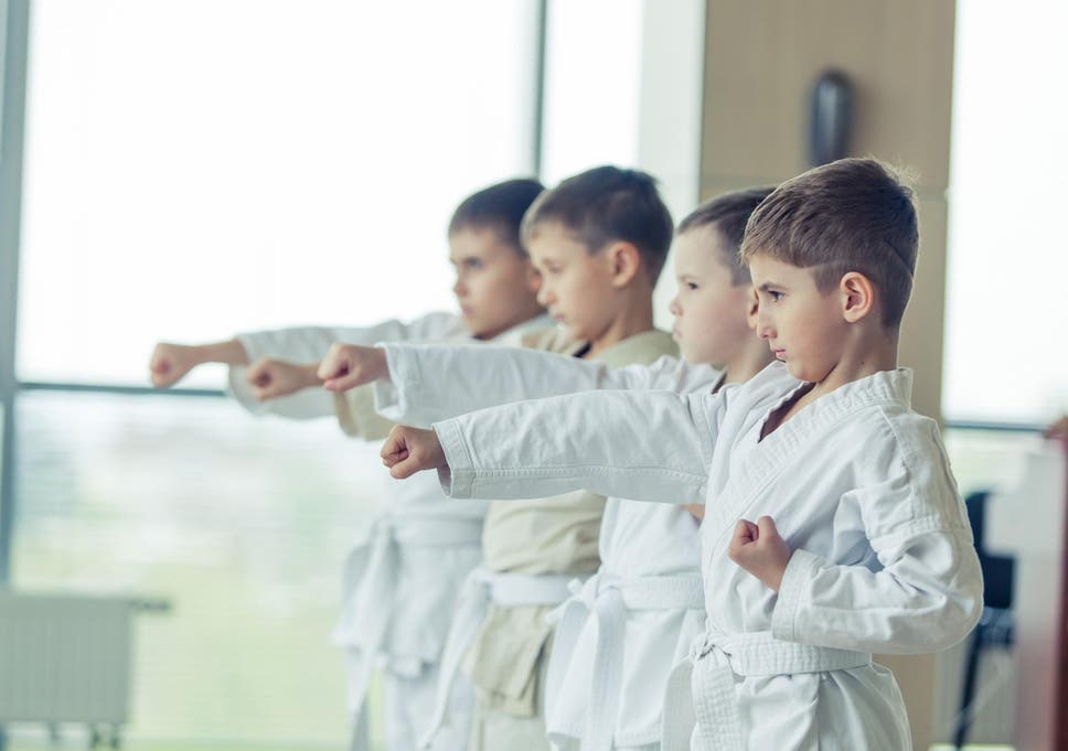 Karate has been shown to improve a person's emotional wellbeing too