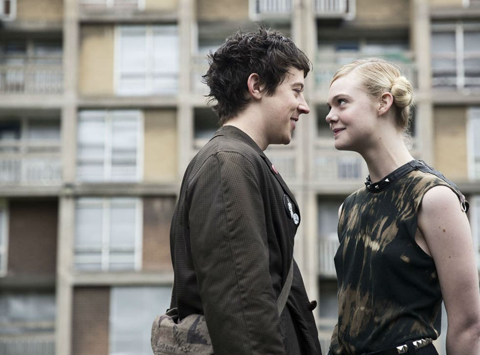 Ever fallen in love? Alex Sharp discovers how to talk to Elle Fanning