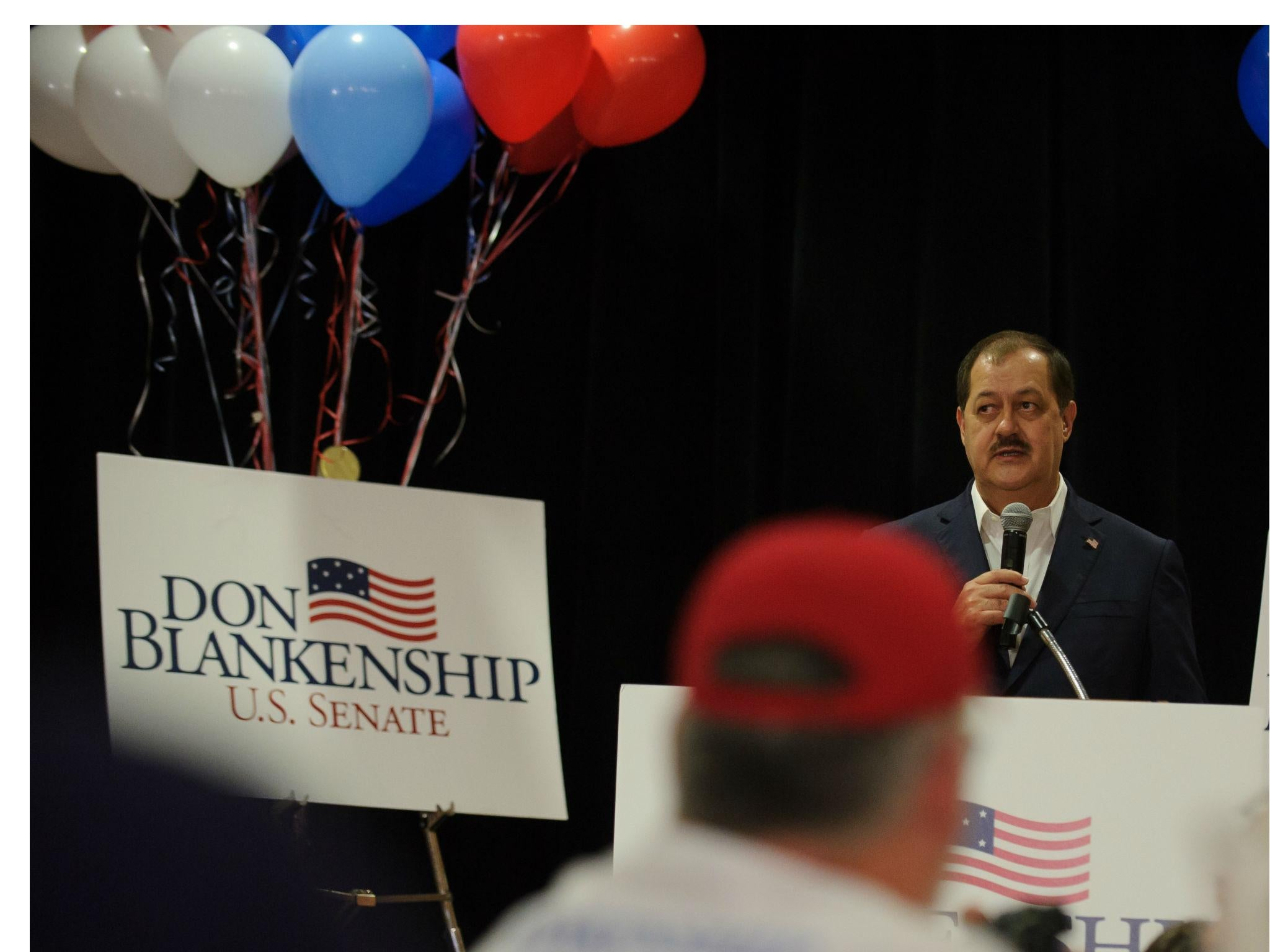 Don Blankenship loses in West Virginia primary as Republicans reject 'Trumpier than Trump' candidate