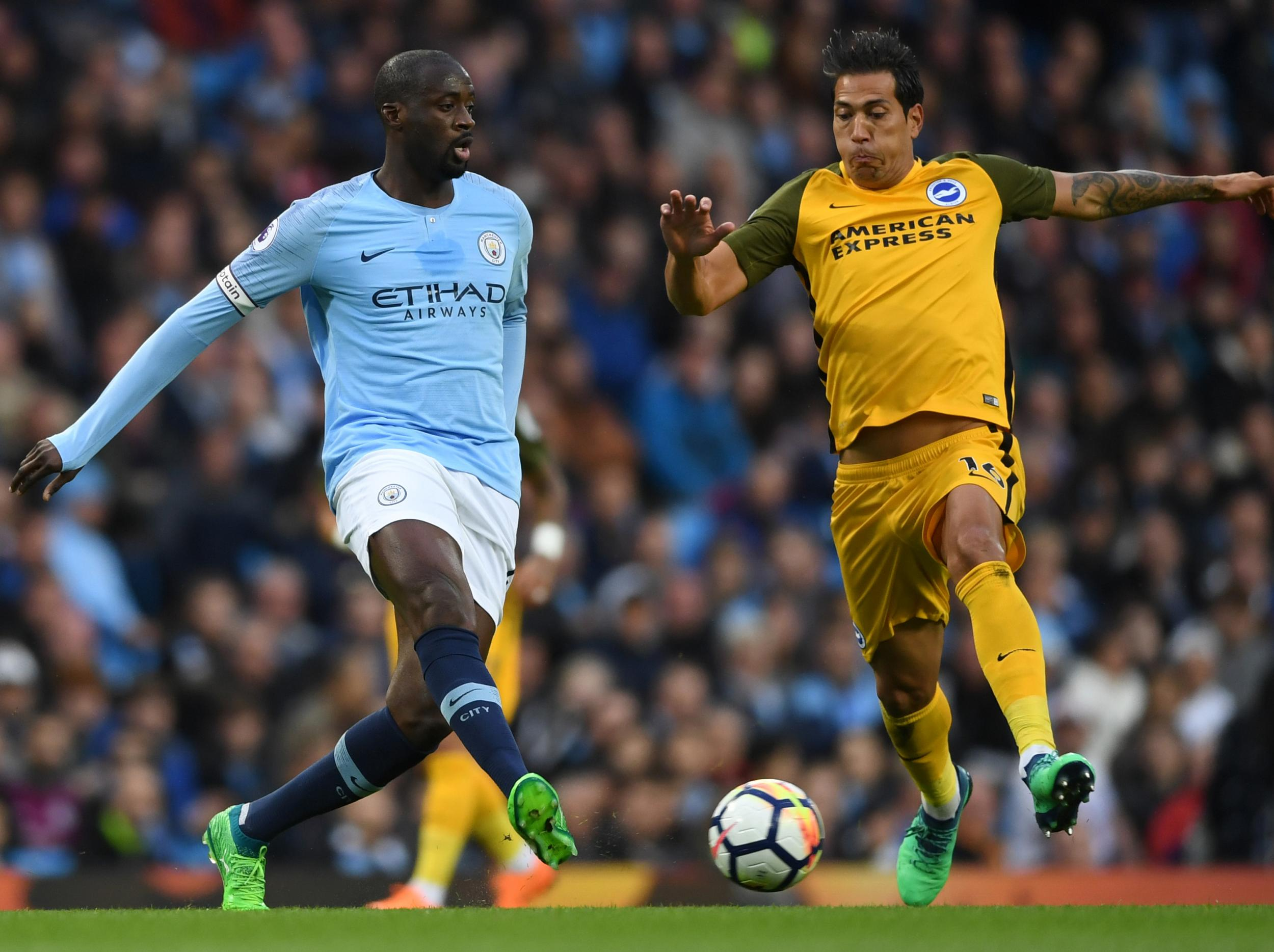 Manchester City vs Brighton LIVE: Latest goal updates and coverage
