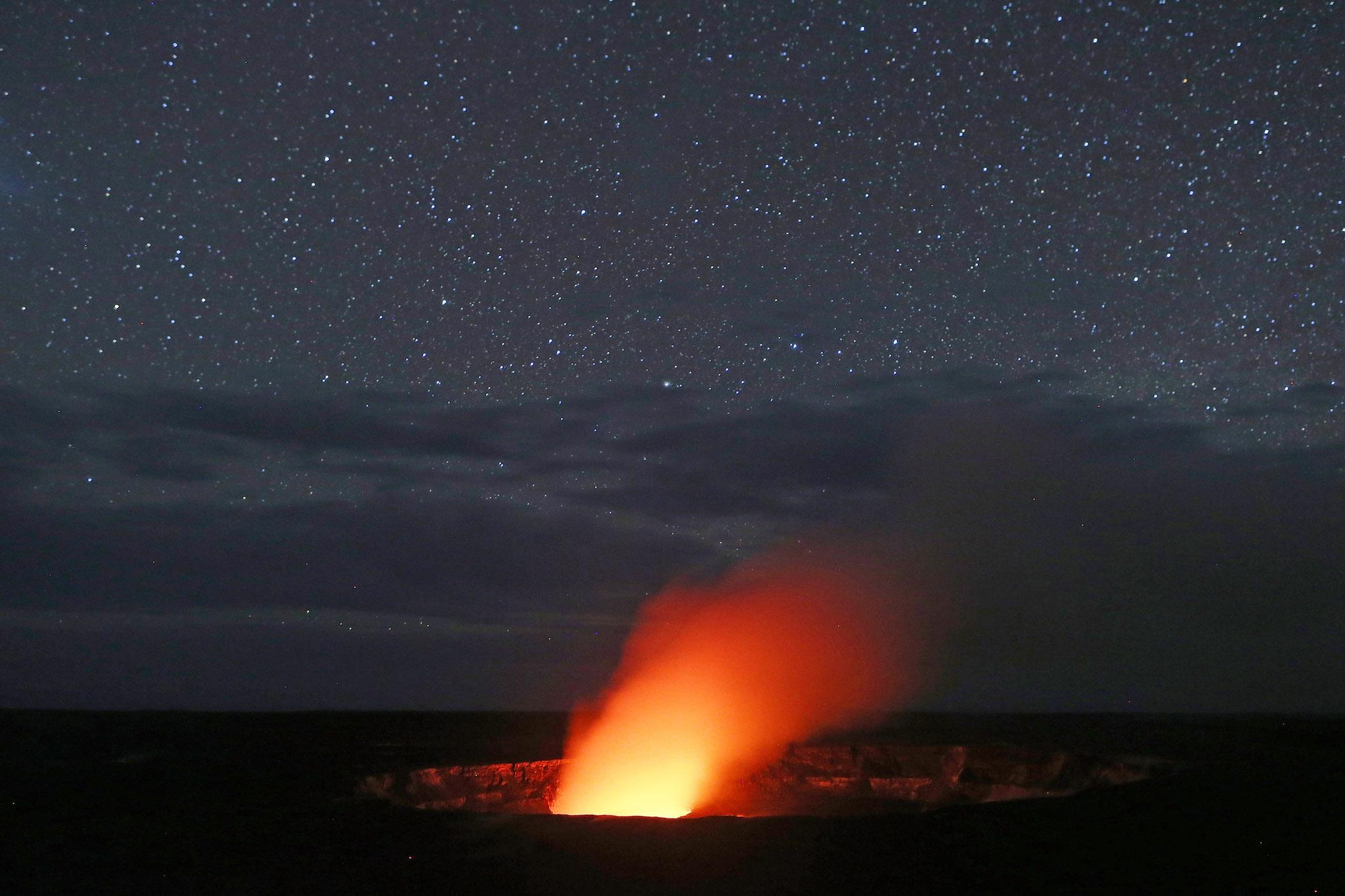 Hawaii volcano: 3D video shows stunning size of huge Kilauea lava lake that threatens island communities
