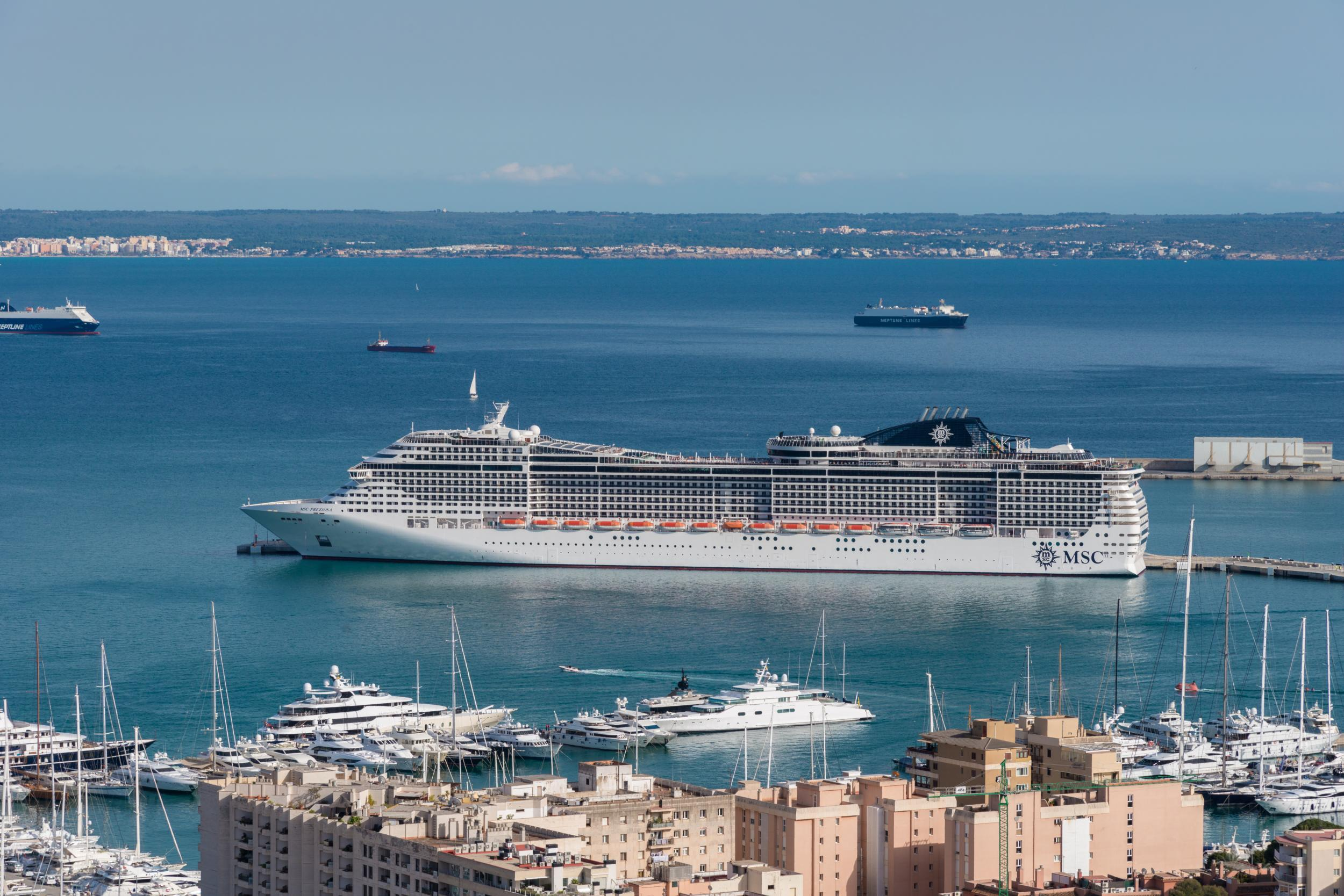 Mallorca Campaigners Demand EUR5 Daily Tax For Cruise Ship Passengers