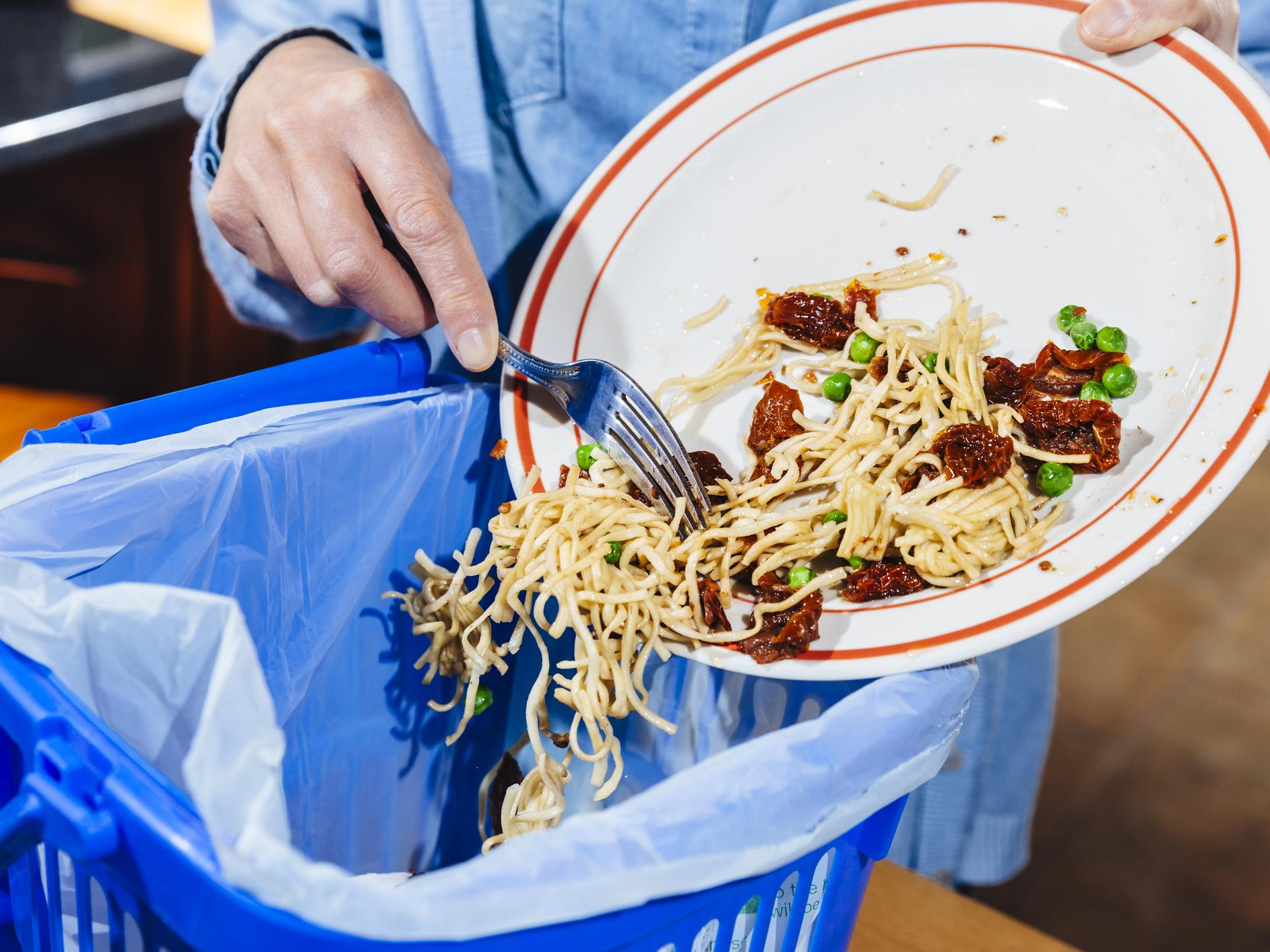 Carbon emissions could be halved by avoiding waste from food, clothing and electronics