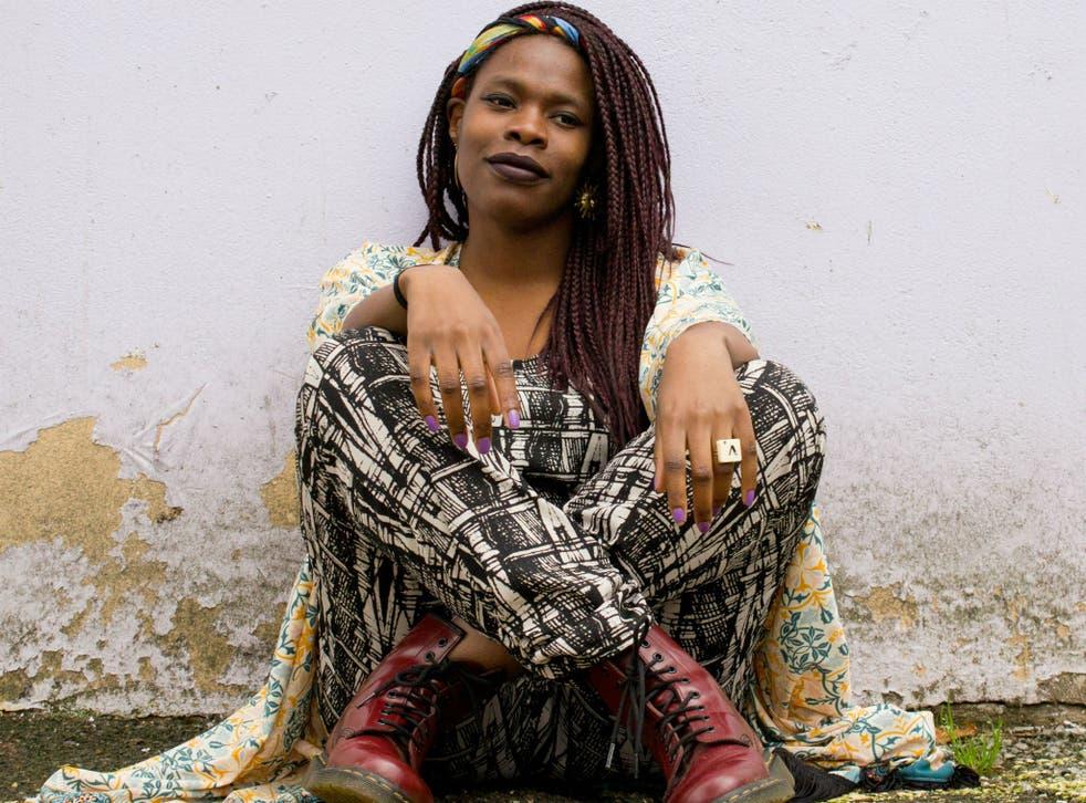 Performance poet Vanessa Kisuule