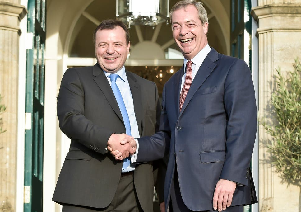 Image result for farage and banks