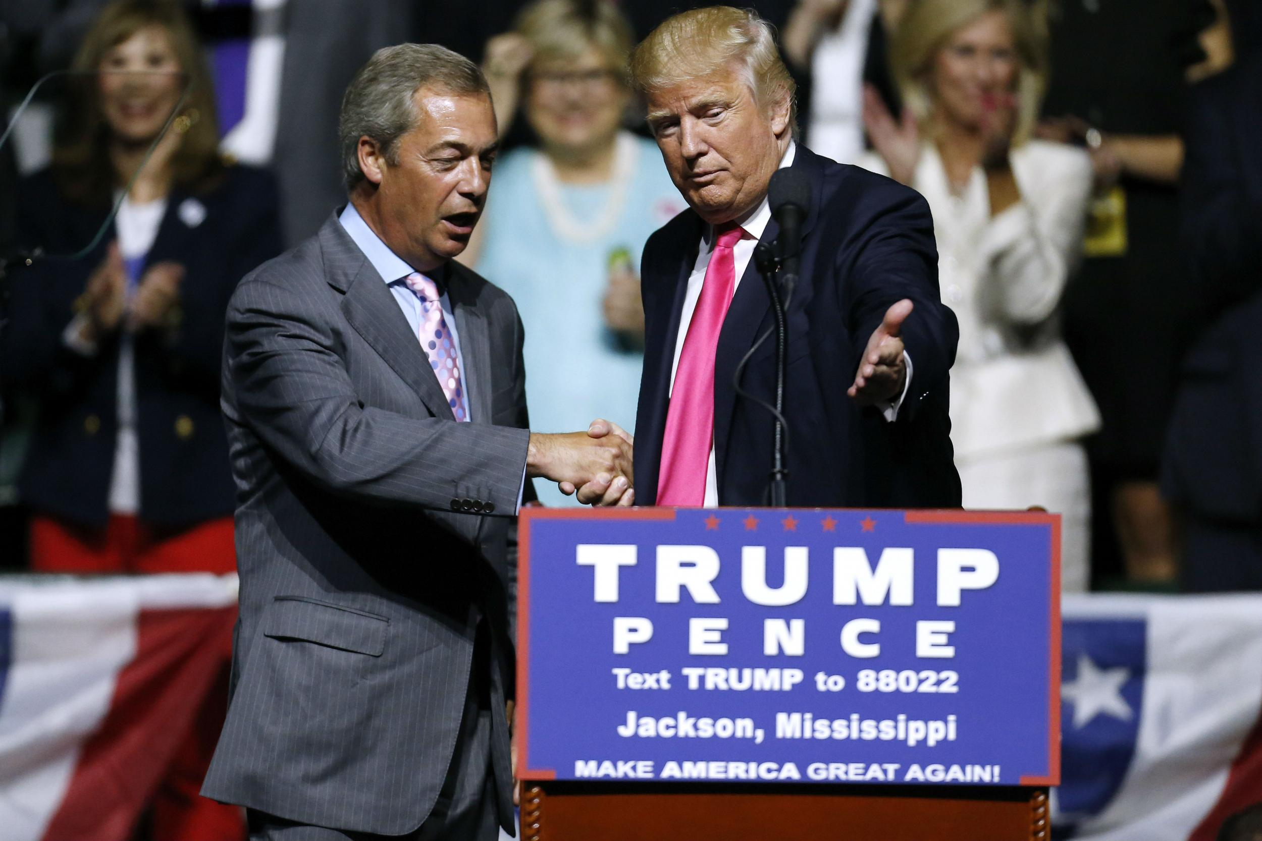 Nigel Farage to start petition to secure Donald Trump the Nobel Peace Prize