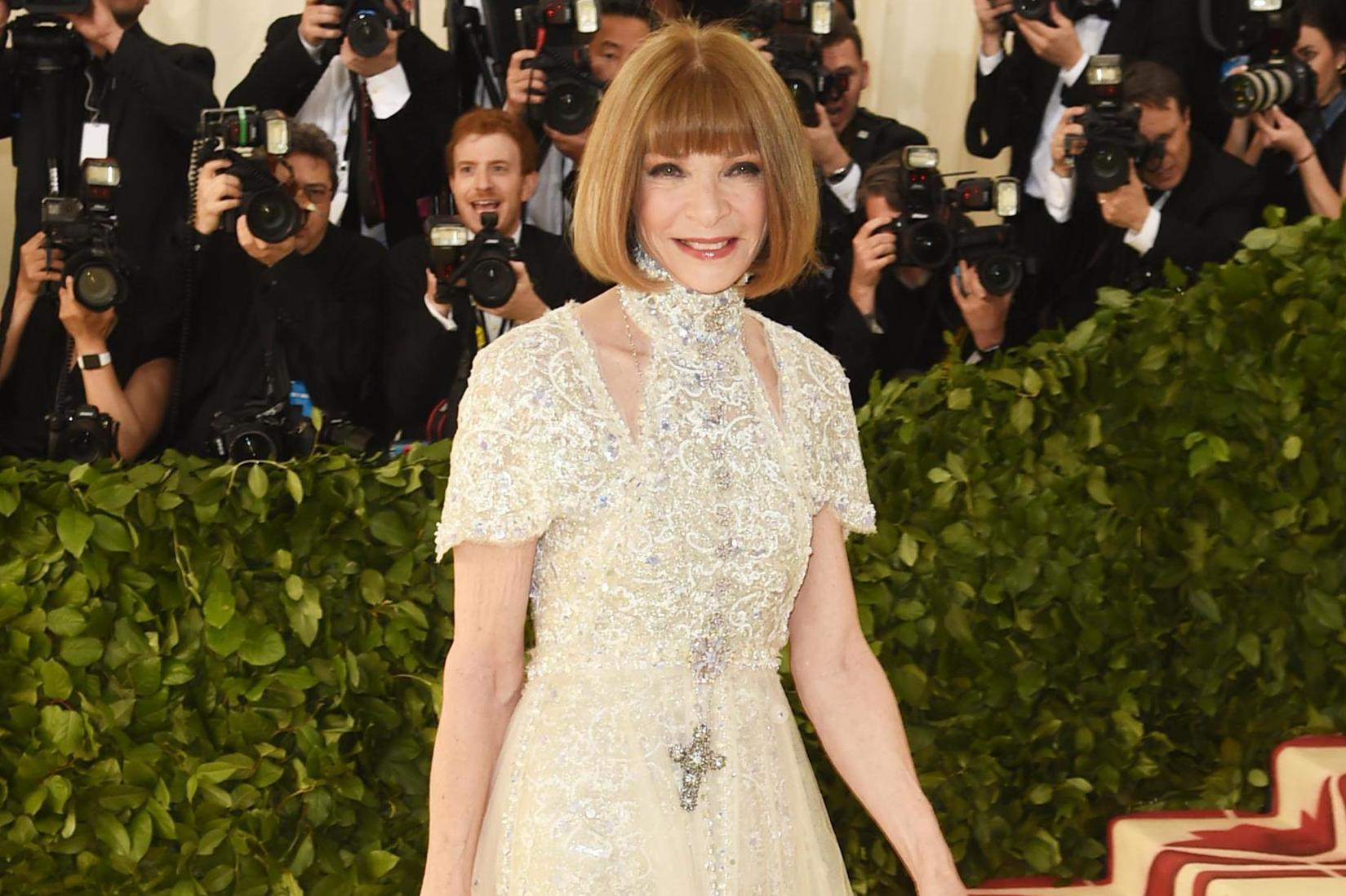 Image result for anna wintour met gala