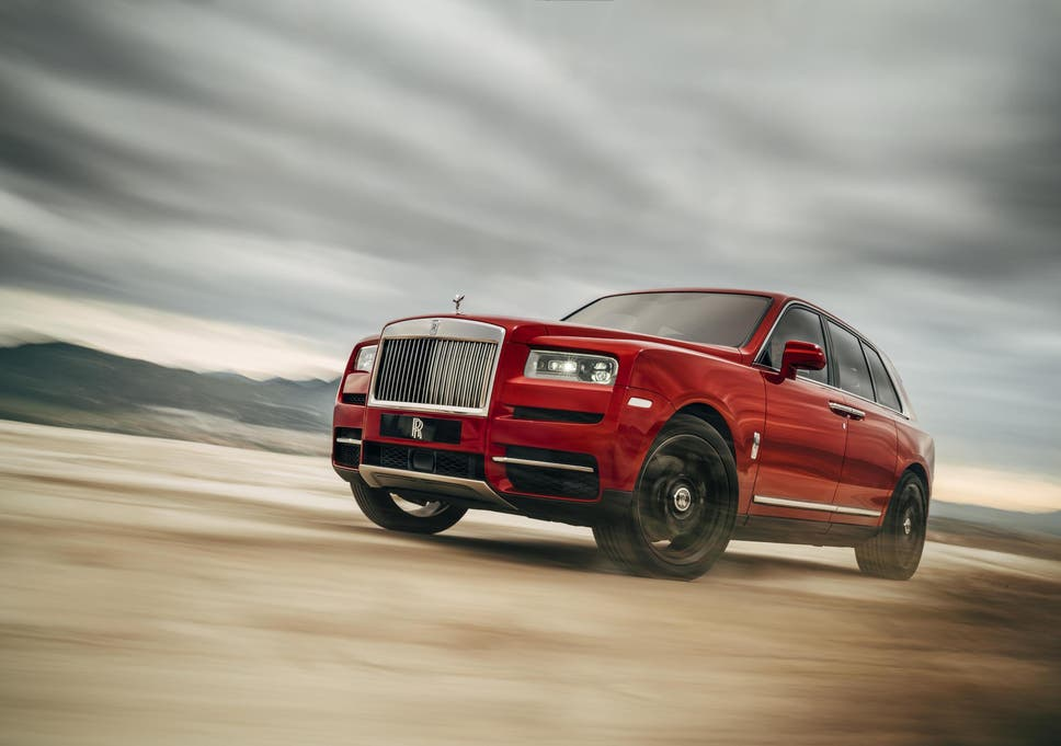 Rolls Royce Release 250 000 Suv For Millennials The Independent