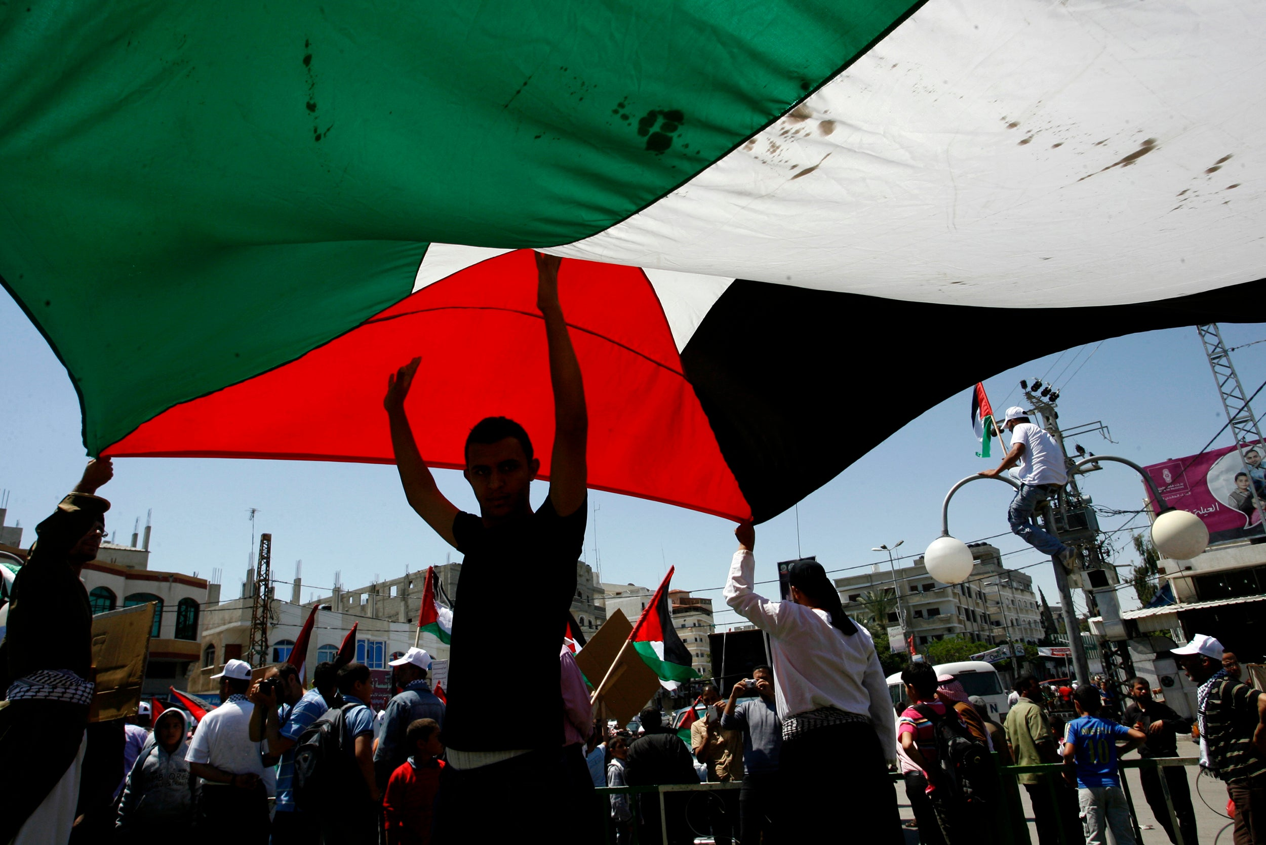 Israel at 70: 'Why I have to tell the story of the Palestinian struggle to return home'