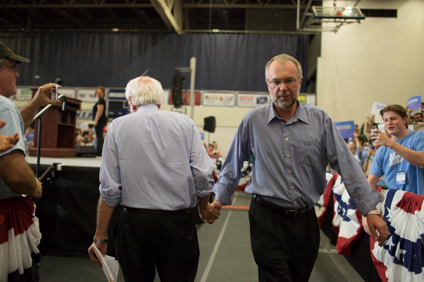 Levi Sanders: Bernie Sanders' son carries his father's