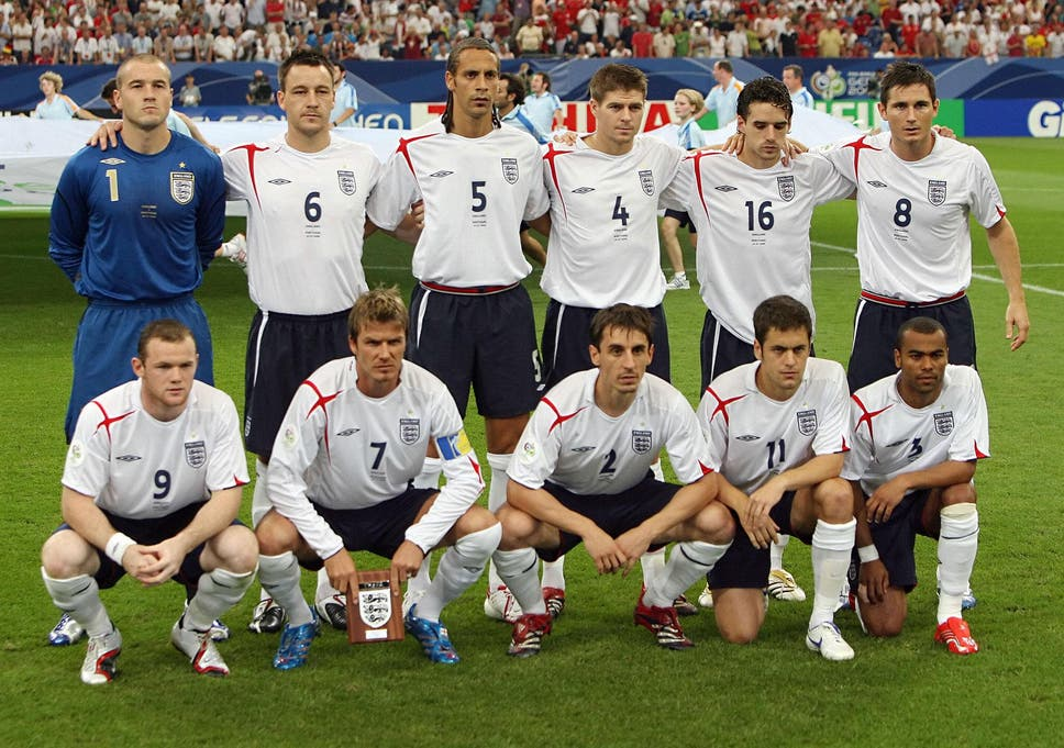 England failed to live up to their potential during Ferdinand's career