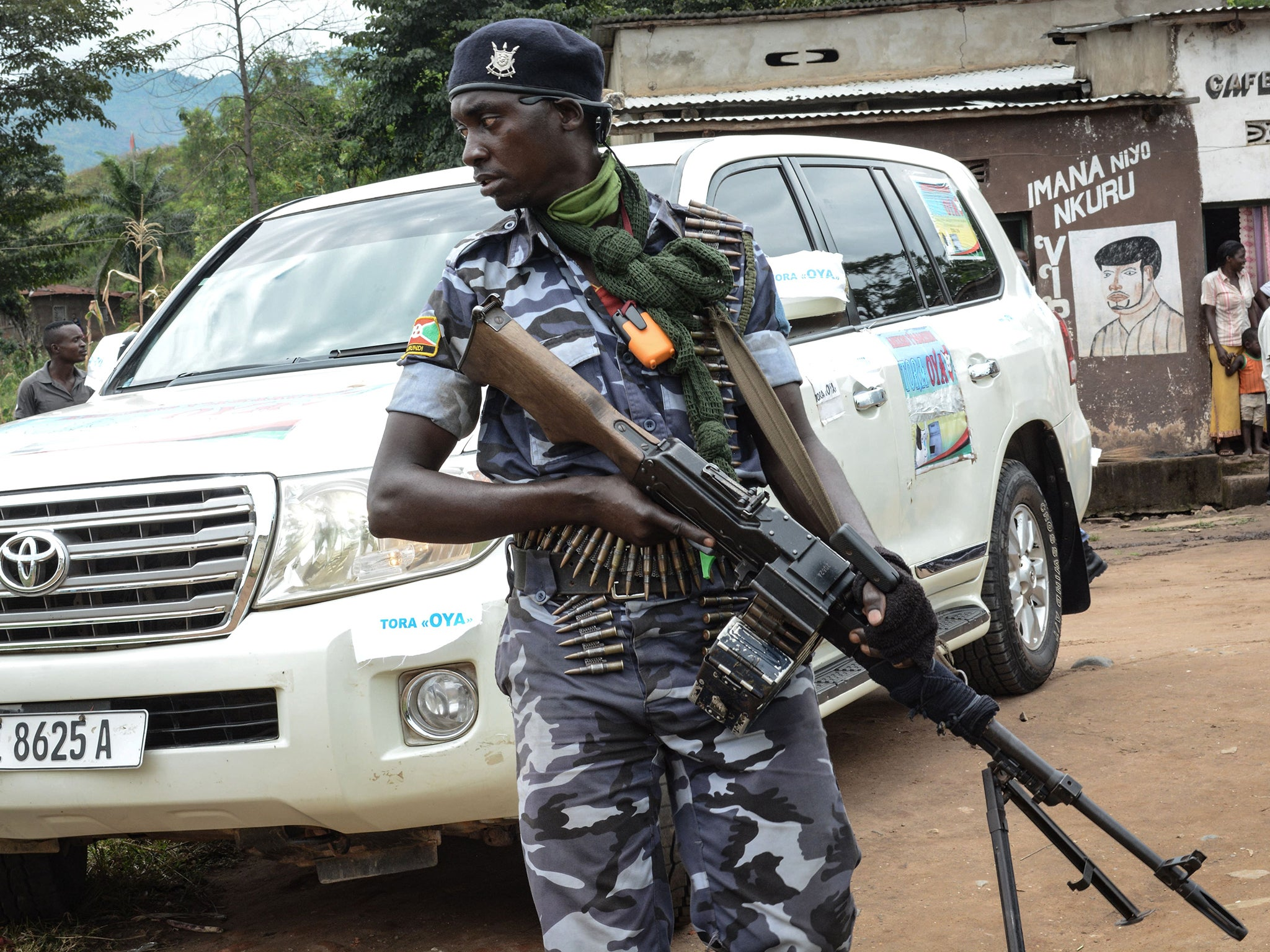 At least 26 people killed in overnight attack by 'terrorist group' in Burundi, officials say