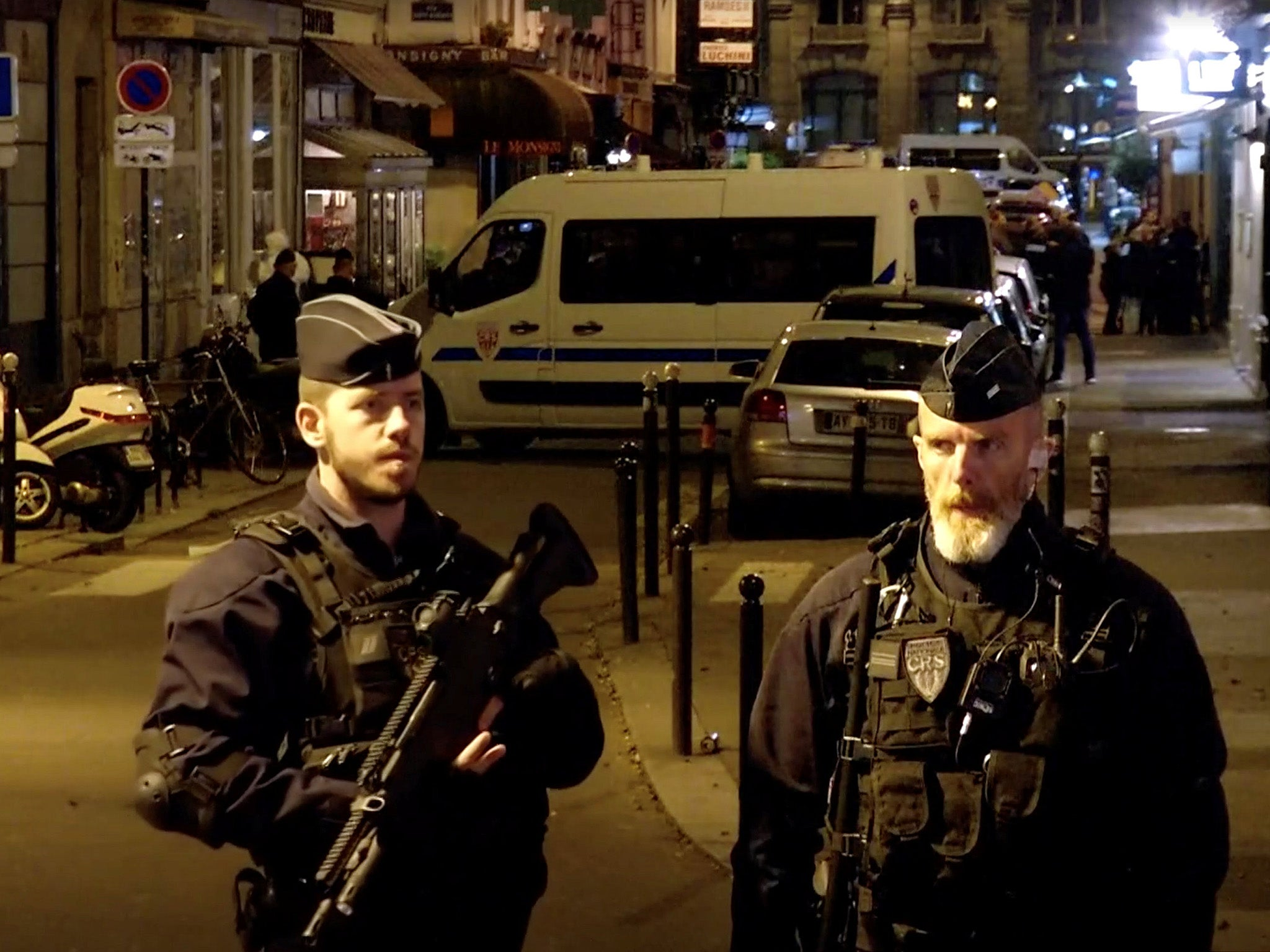 Paris attack: Knifeman who killed one and injured four was French national born in Chechnya