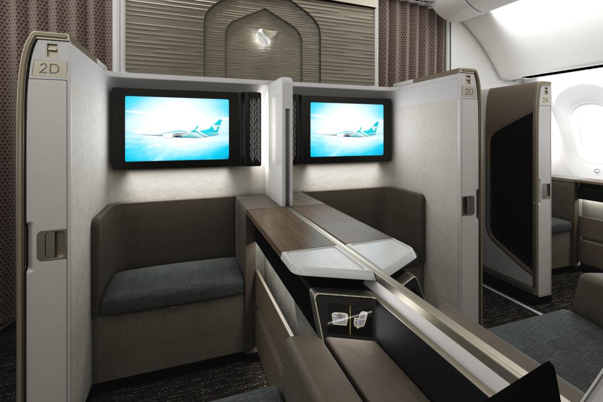 oman air first class