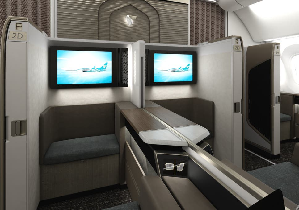 What it's like to fly first class on Oman Air | The Independent