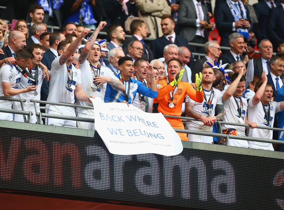 Tranmere beat Boreham Wood in the National League play-off final on Saturday