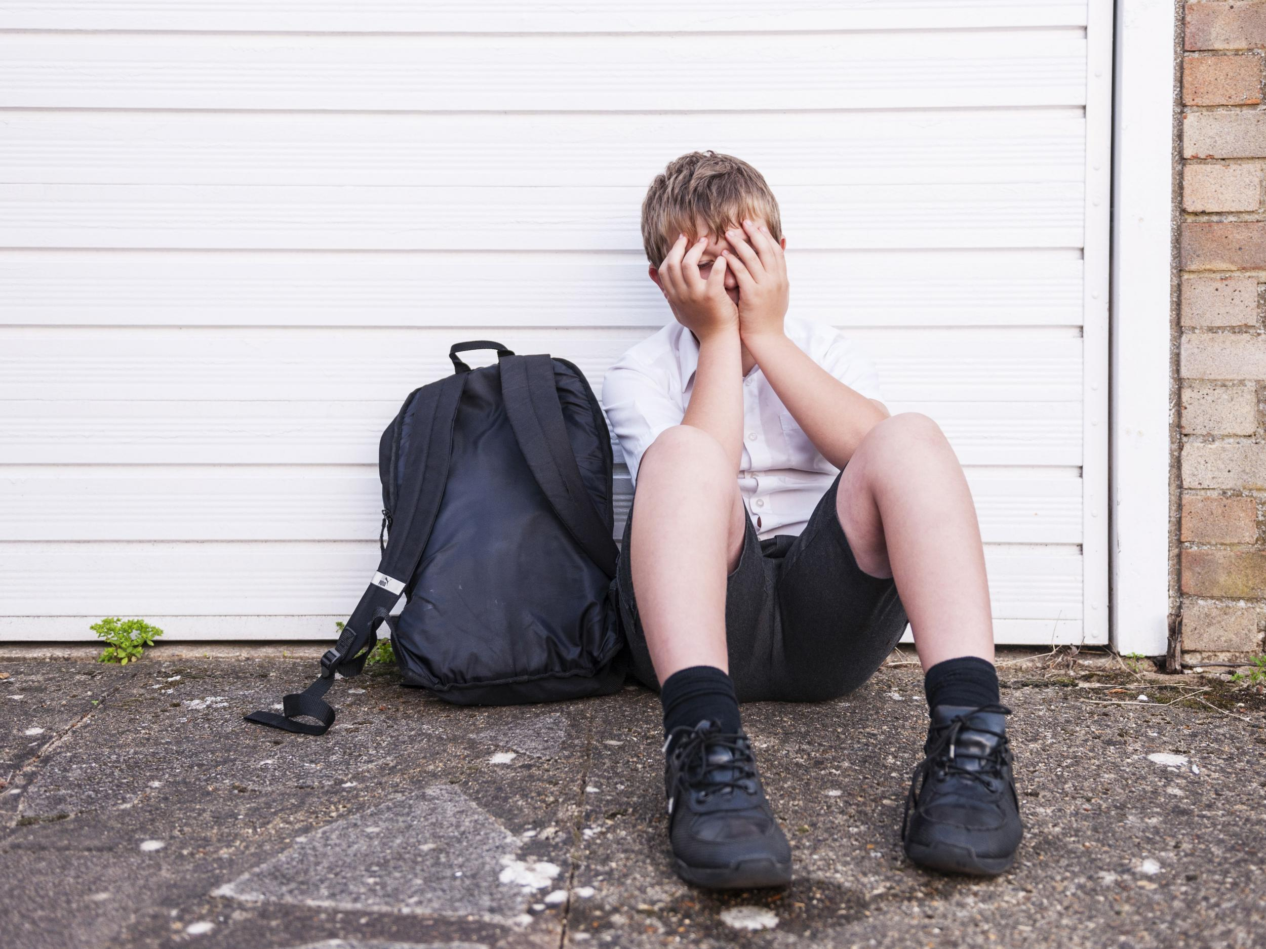 One in five children have contemplated suicide because of bullying at school, study reveals
