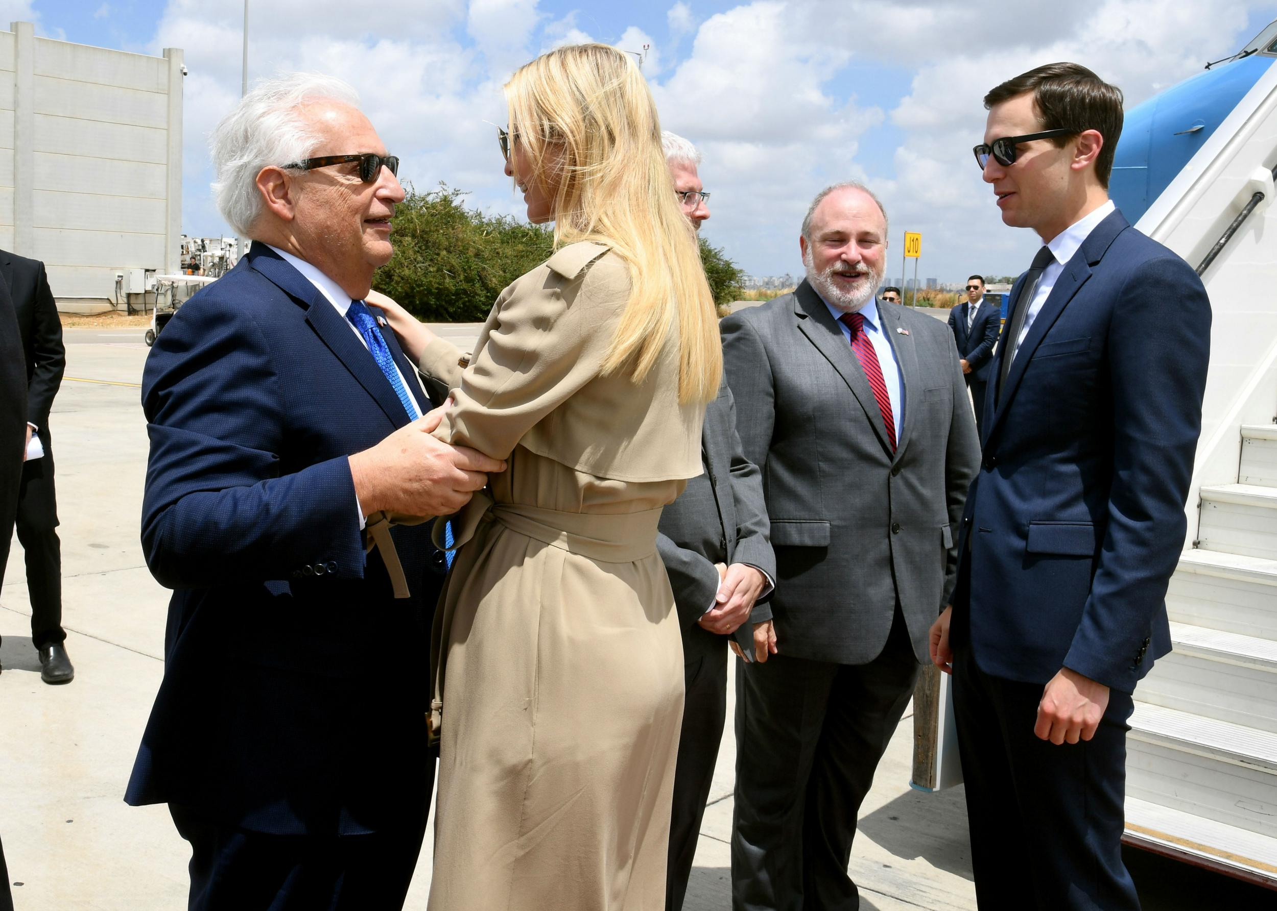 Ivanka Trump arrives in Israel for controversial opening of US embassy in Jerusalem as Palestinians plan protests