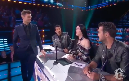 Ryan Seacrest's 'creepy' comments to Katy Perry caught on air