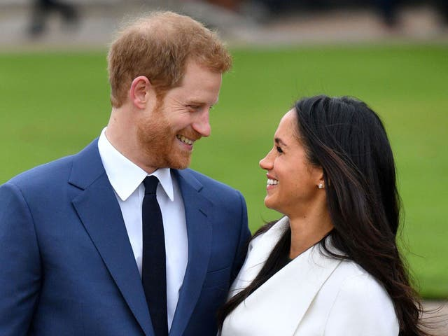 <p>Prince Harry and Meghan Markle</p>