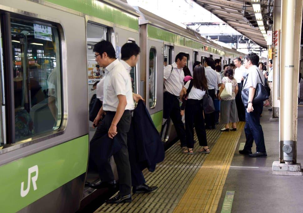 Japanese railway company apologises for train leaving 25