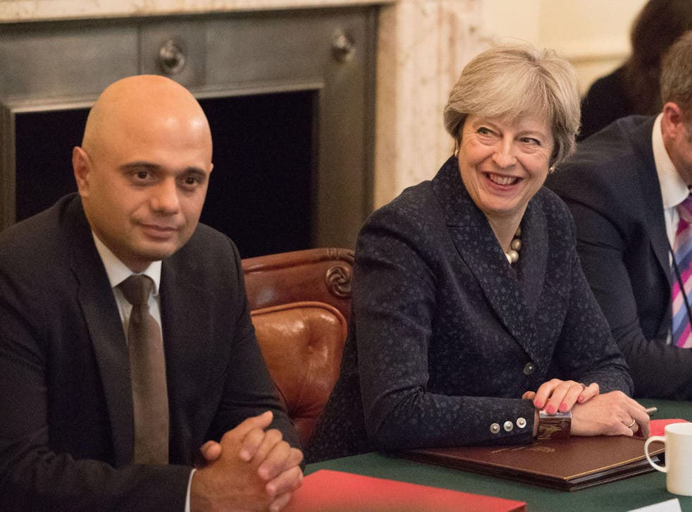 Sajid Javid has publicly called for police to be given more resources in an upcoming government spending review