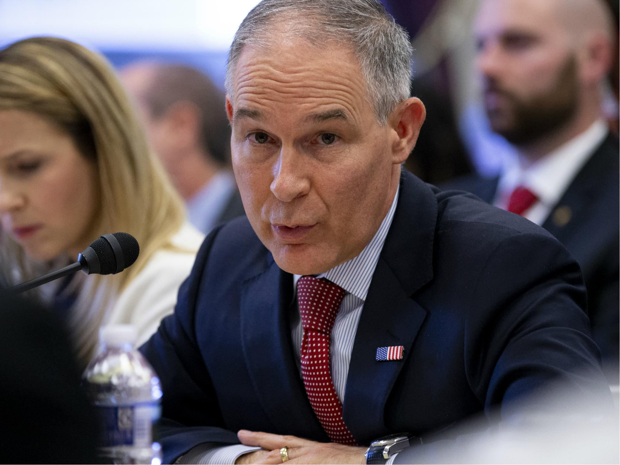 Scott Pruitt: EPA chief had 'round-the-clock' security since first day in office, contrary to his claims