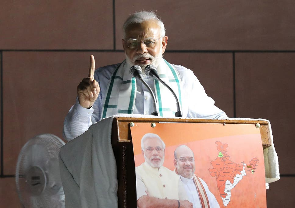 India Election Party Of Pm Narendra Modi Wins Emphatic Victory In