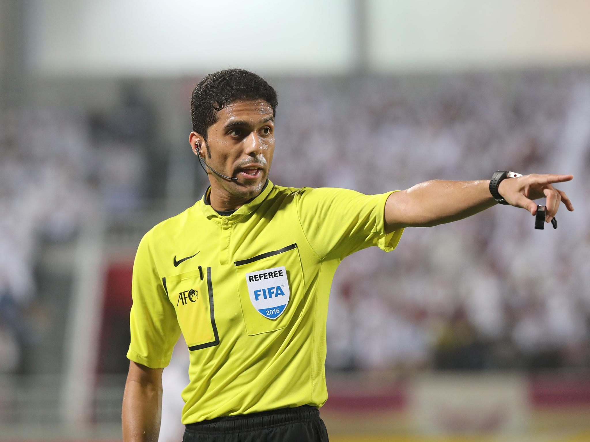 9cd95c9a6 World Cup 2018  Saudi Arabian referee due to officiate in Russia banned for  life for match-fixing attempt