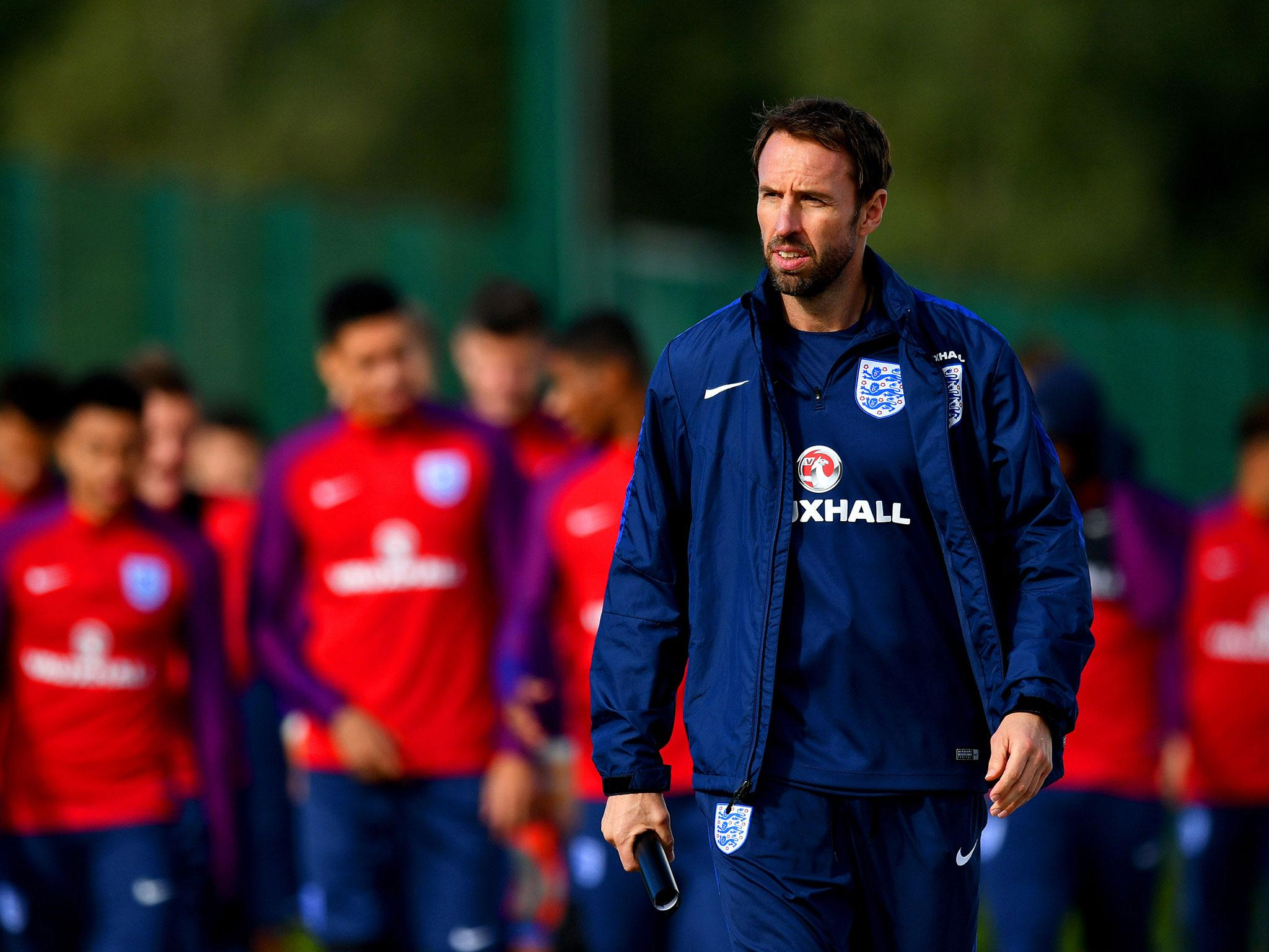 Gareth Southgate names England World Cup squad