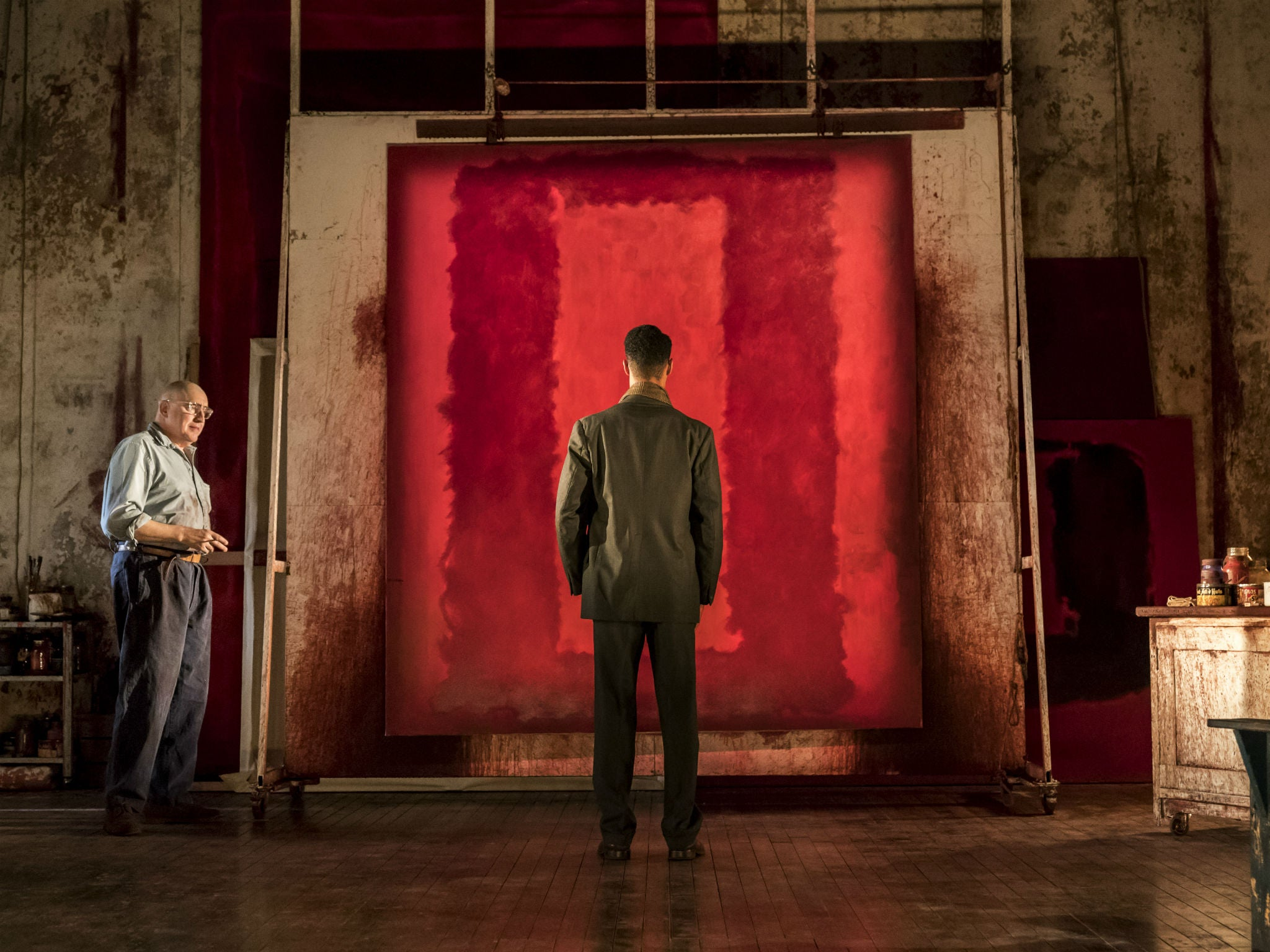Red, review: Alfred Molina plays Mark Rothko in a phenomenal production of a flawed play