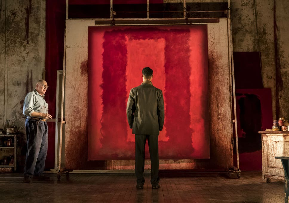 red wyndham s theatre london review alfred molina plays mark