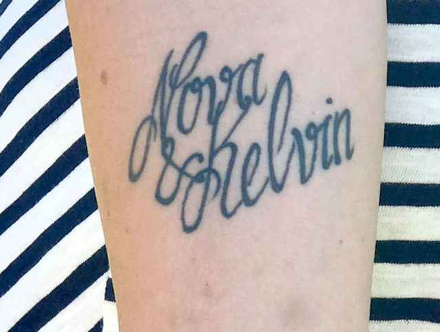 Mother renames her son after tattoo artist makes a spelling mistake