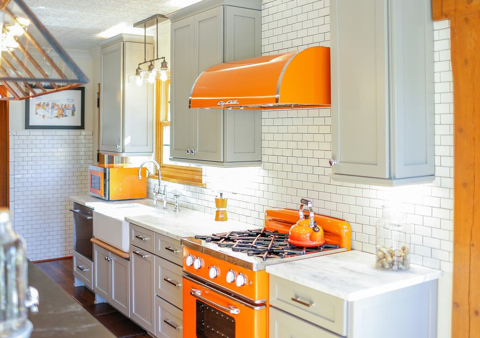 Sick Of All White Kitchens Here Are Six Ways To Spice Things Up