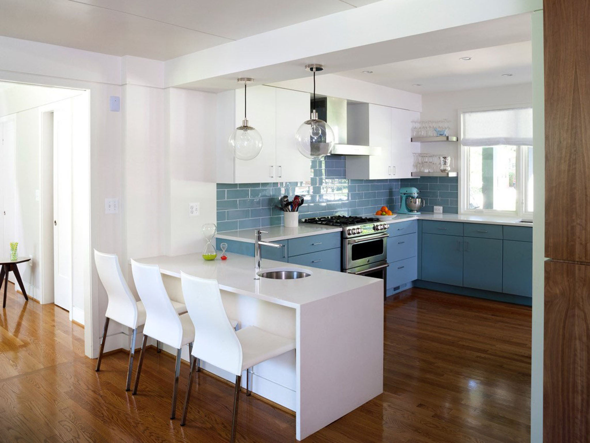 Sick of all-white kitchens? Here are six ways to spice things up ...