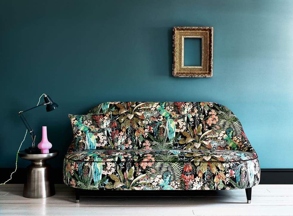 A chaotic flurry of striking colours makes Linwood's Tango collection a must-see