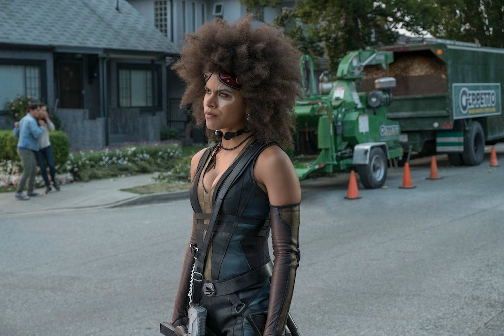 Deadpool 2 Interview Zazie Beetz On Why Domino Embraces Armpit Hair