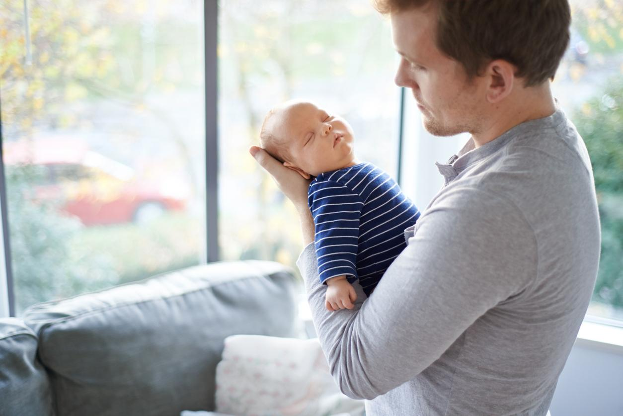 Postpartum depression in dad: how to help