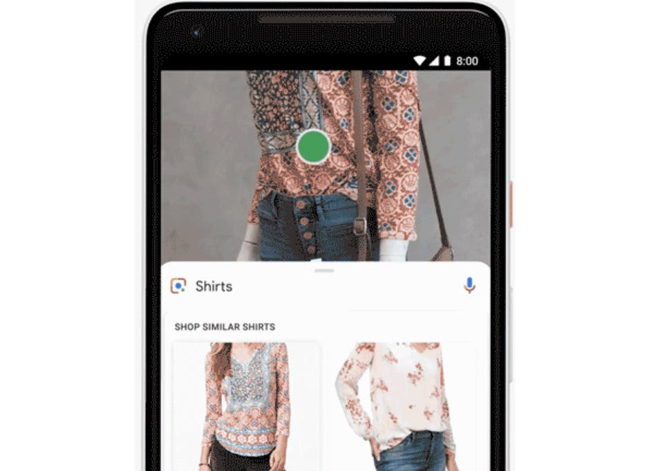 176d34009c5caf Google's new style-matching service allows you to shop for clothes people  on the street are wearing