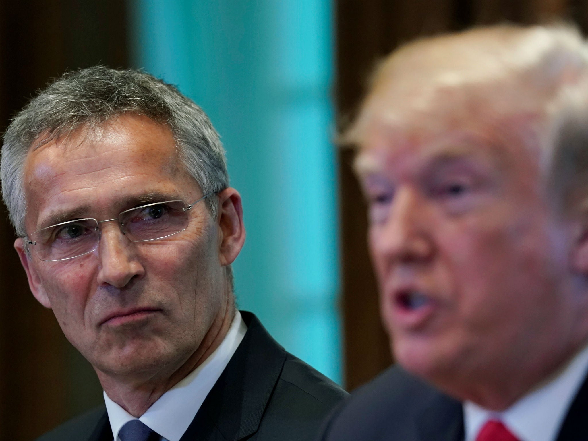 Donald Trump warns Nato members will be 'dealt with' if they refuse to pay more for military alliance