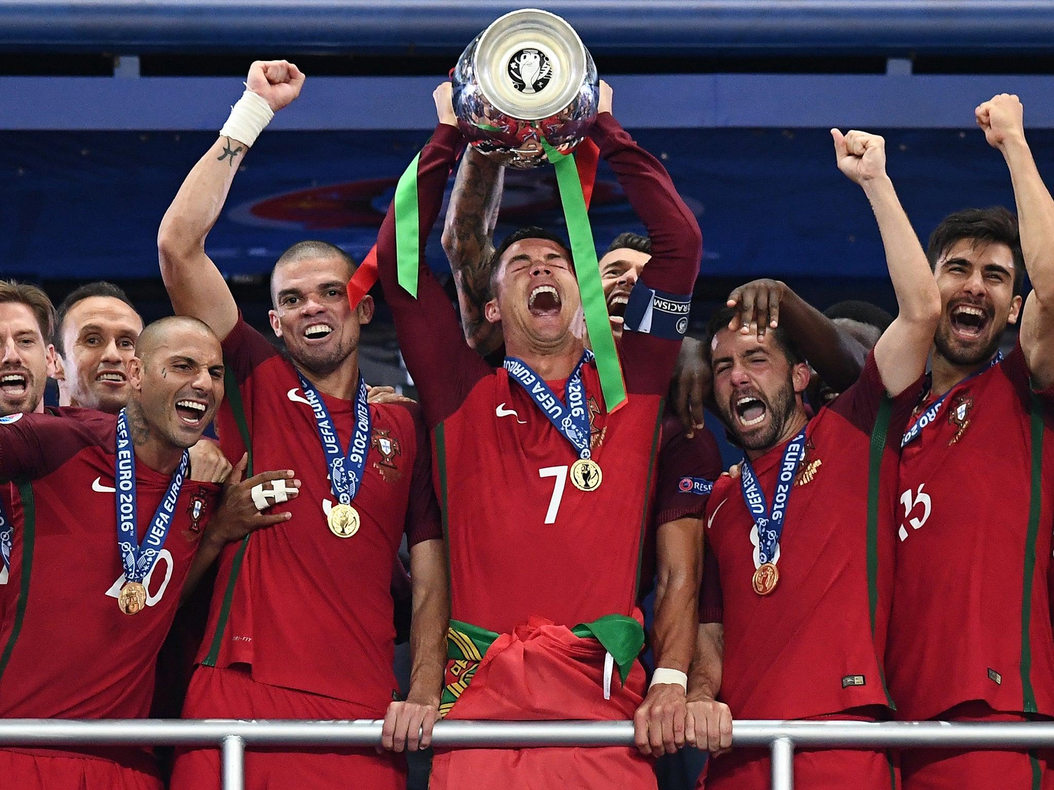Ronaldo UEFA EURO 2016 Champions Portugal Soccer Jersey Patch